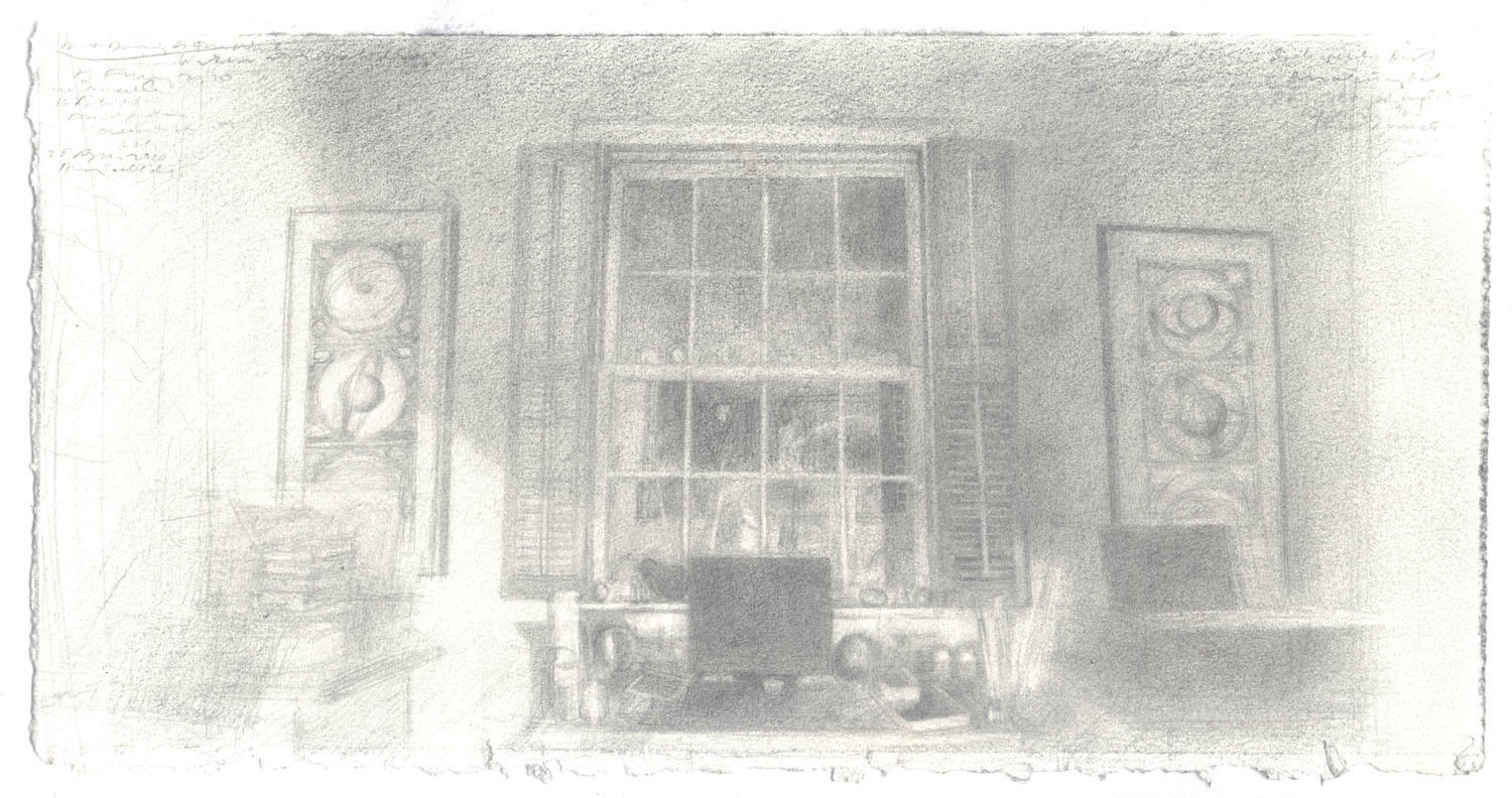 Dark Drawings at the Window image