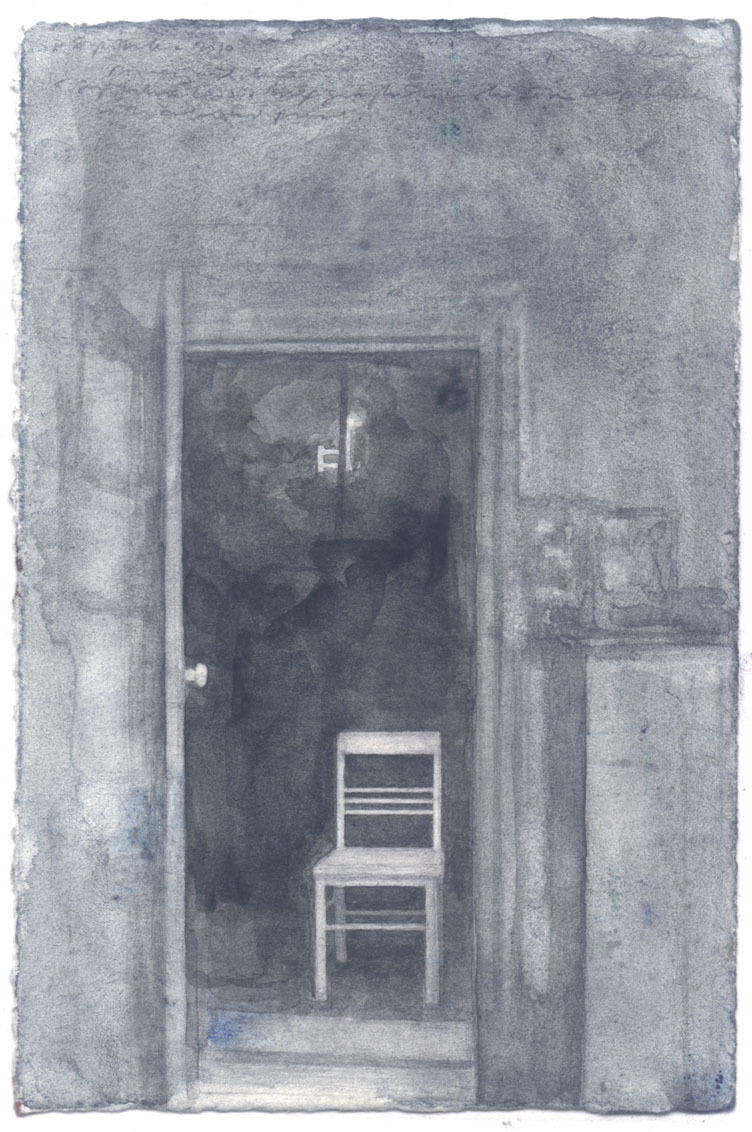 Doorway and Chair image