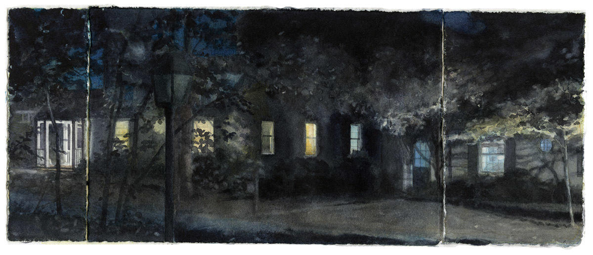 Lights in Three Panels image