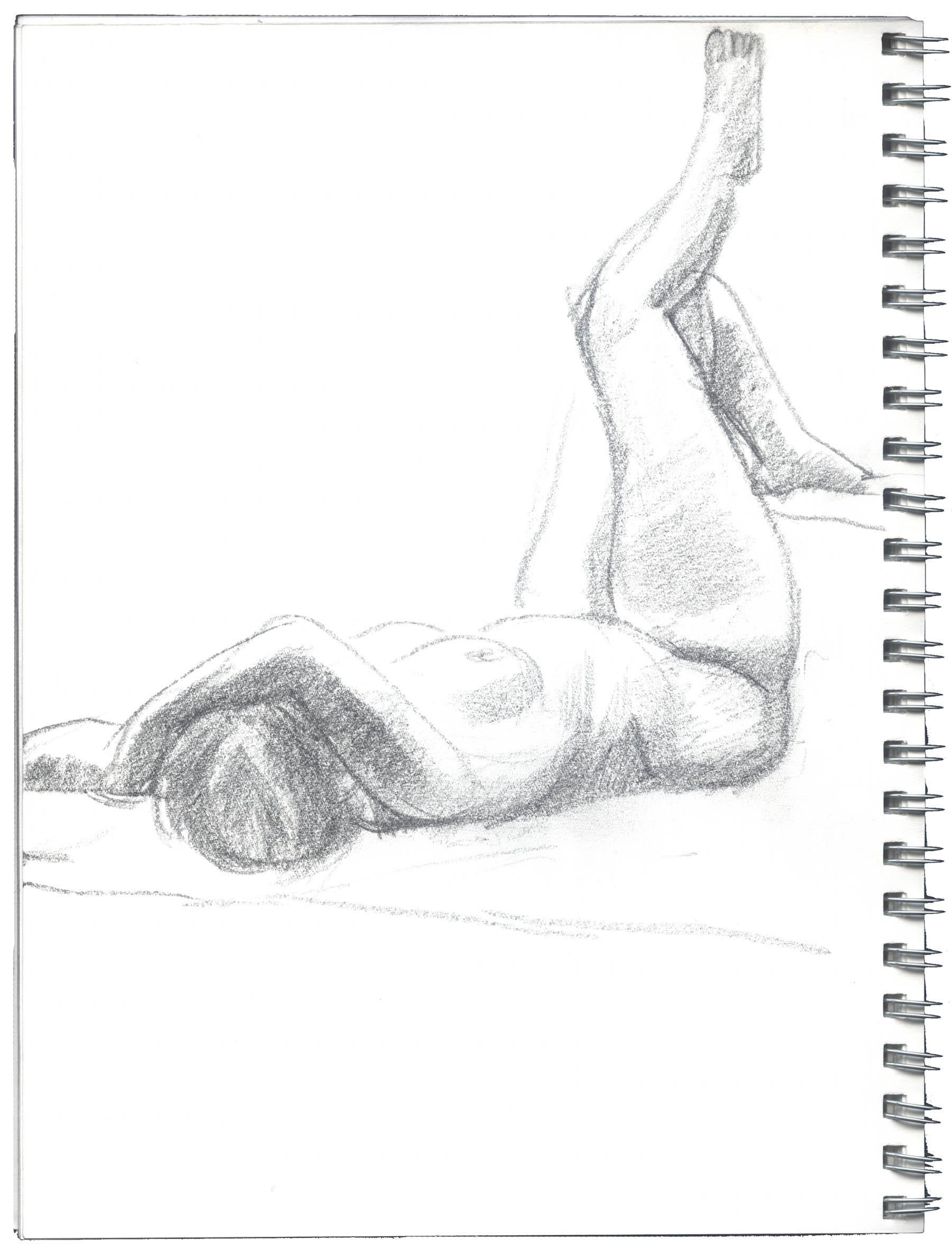 Reclining Female Figure image