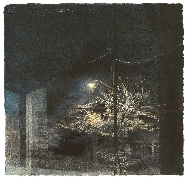 Streetlight and Doorway image