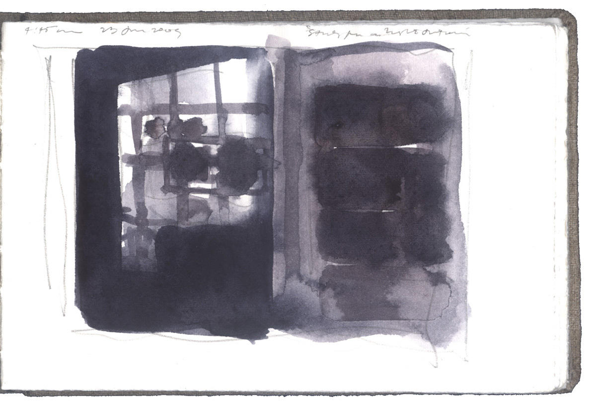 Study for a Night Interior image