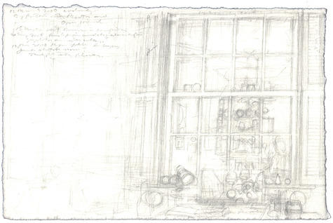 graphite on Fabriano paper