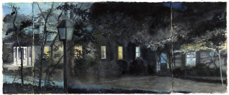 Two Houses and Lights image