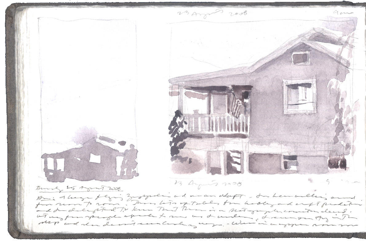 Two Studies of a Beach House image